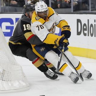 Pacioretty nets 2, leads Vegas past Nashville, 5-1