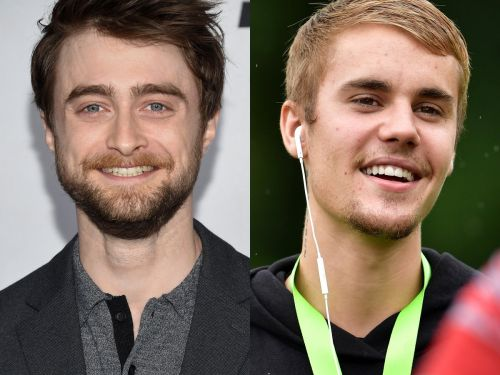 Daniel Radcliffe says he feels for Justin Bieber when the singer is embroiled in controversy, because they both grew up in the spotlight