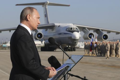 Russia will keep bases in Syria to strike at 'terrorists'