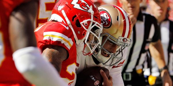 'It doesn't look good': 49ers fear Jimmy Garoppolo suffered a season-ending knee injury