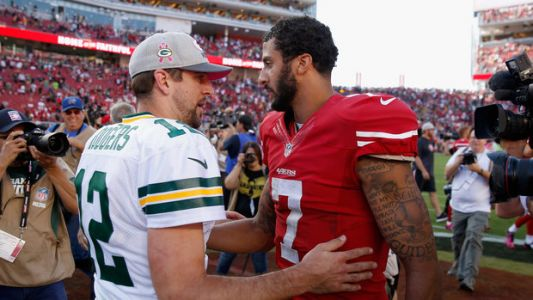 Aaron Rodgers Says Colin Kaepernick Should Be On An NFL Team 'Right Now'