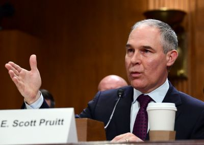 Scott Pruitt is a champion for states' rights - unless they want to strengthen environmental