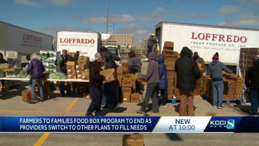 USDA food box distribution to continue even as Farmers to Families program comes to an end