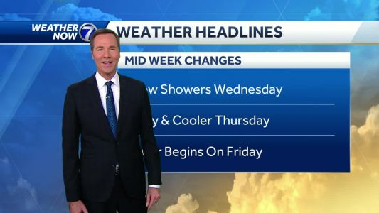 A bit cooler weather coming