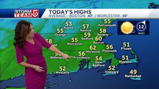 Video: Sunny with early May warmth