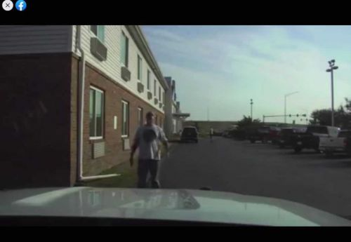 Altoona PD releases dash cam video of officer fatally shooting man at Motel 6