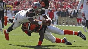 Catanzaro's 59-yard FG in OT lifts Bucs over Browns 26-23