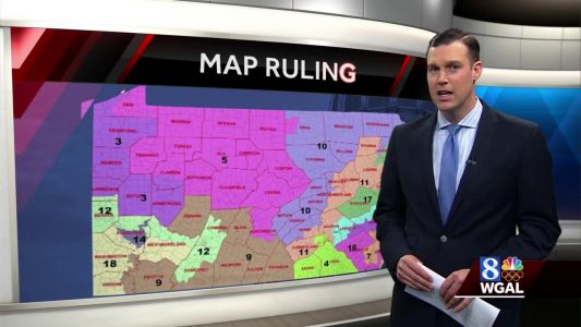 Governor rejects Republican's new Congressional map