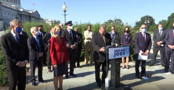 Thousands of airline employees face furlough on Oct. 1 without relief from Congress
