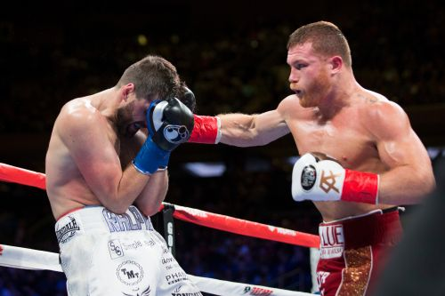 Canelo Alvarez destroys Fielding in first fight of massive deal