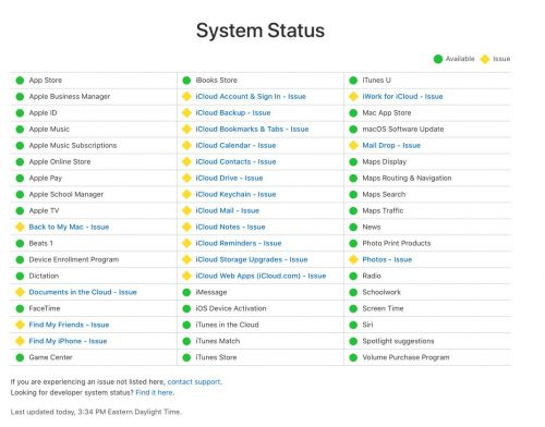 It's not just you - Apple iCloud is having issues