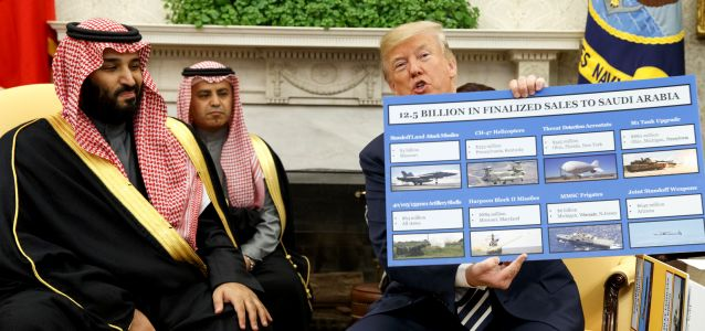 Trump Puts his Logo on the Military-Industrial Complex, Sets Up US Arms Sales with Syria Demo