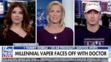 Fox News' Laura Ingraham Hosts Hacking 'Vape God': 'I'll Blow Whatever'