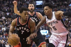 Lowry big in 4th, scores 24 as Raptors beat Spurs 86-83