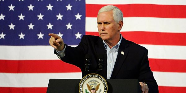Pence backs Trump's claim Middle Easterners are in migrant caravan, despite lack of evidence