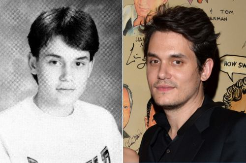 Future heartthrob John Mayer didn't have anyone to go to the prom with