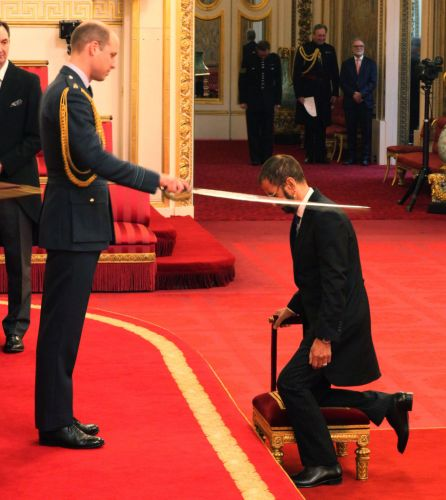 Drumroll please: It's Sir Ringo now; former Beatles drummer knighted