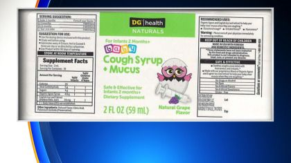 Dollar General Baby Cough Syrup Recalled Due To Possible Bacteria Contamination