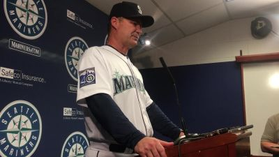 Postgame reaction from the Mariners' 6-5 walk-off win over the Yankees