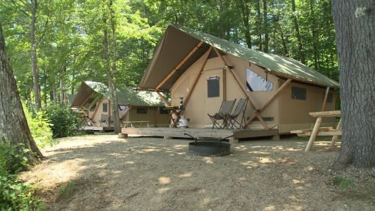 Friday, July 27th: Glamping in the White Mountains