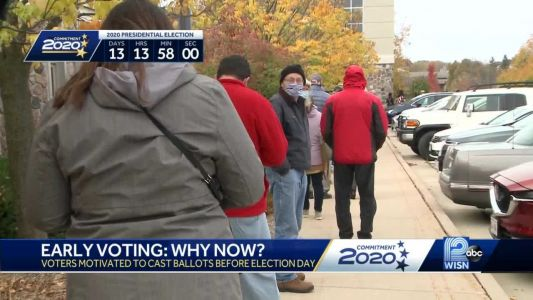 Voters around SE Wisconsin take advantage of early in-person ruling