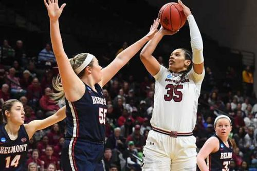Gamecocks take out Belmont in first round of NCAA tournament