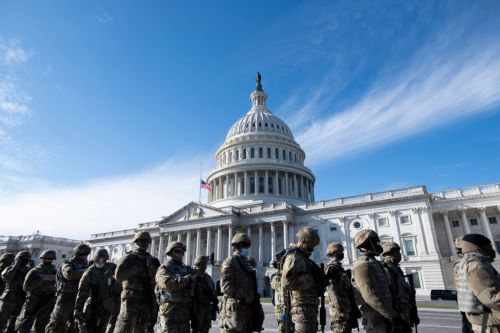 Pentagon deploys hundreds of active-duty troops for inauguration security