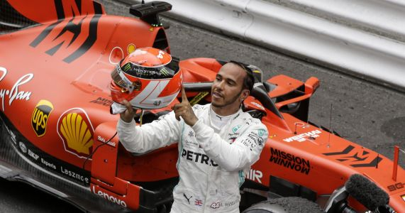 Hamilton wins Monaco GP to extend lead over teammate Bottas