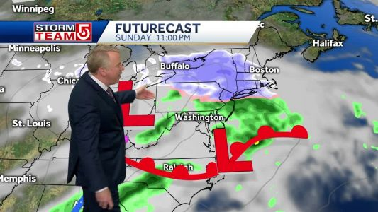 Video: Here's when snow will impact the holiday weekend
