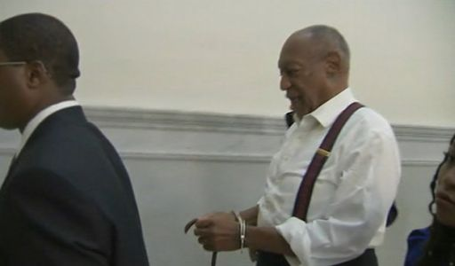 Bill Cosby in shackles after sentencing
