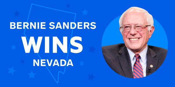 Bernie Sanders wins the Nevada Democratic caucuses