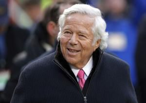 Patriots owner Kraft denies charges of soliciting prostitute