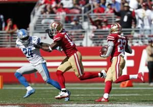 Lions lose 2nd straight under Patricia, 30-27 to 49ers