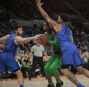 Pritchard scores 29 as Oregon outlasts DePaul 89-79 in OT