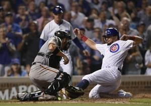 Bryant's HR in 8th gives Cubs wild 12-11 win over Giants