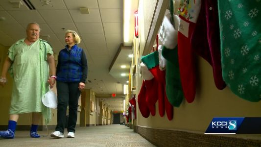 Couple moves to Iowa for lifesaving gift just in time for Christmas