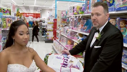 'That's what Christmas is all about': Newlyweds take guests to Target to shop for kids in need