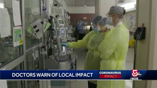 Doctors warn of local impact from COVID-19 spikes in other states