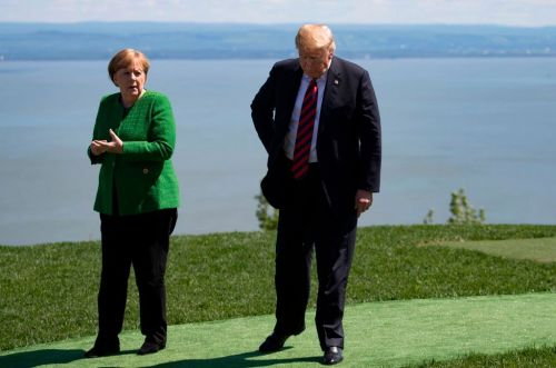 Trump tells ridiculous lie about German crime to argue against taking in asylum-seekers