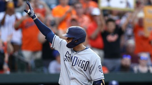 MLB wrap: Padres' Manny Machado homers in return to Baltimore