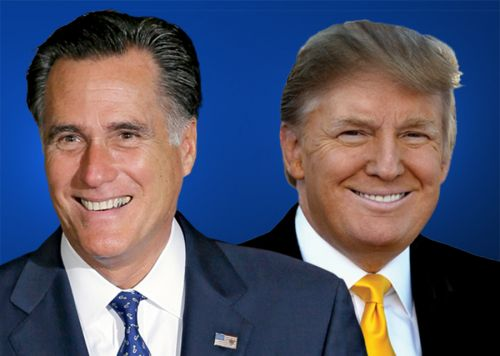 President Donald Trump endorses Mitt Romney for Senate