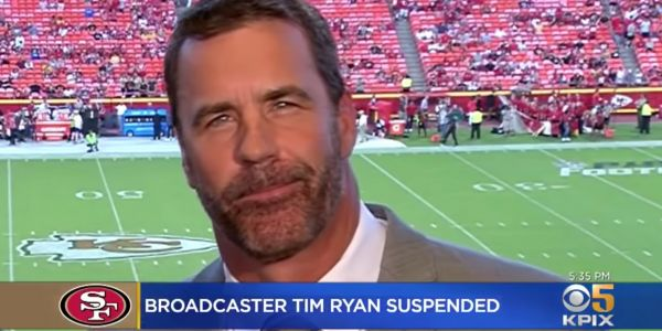 The 49ers suspended an analyst after he said Ravens quarterback Lamar Jackson's 'dark skin color' made him good at fakes
