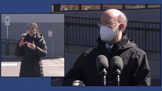 Gov. Wolf: 'Light at the end of the tunnel' in coronavirus fight