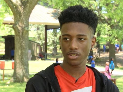 A homeless teen living in a campsite became his school's valedictorian and has $3 million in scholarships