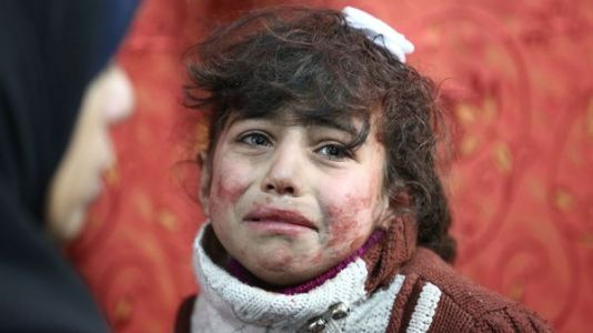 '400,000 People.Live In Hell On Earth': Bombing Of Damascus Suburbs Kills Hundreds