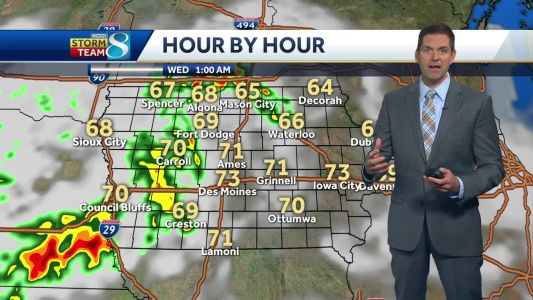 Rounds and rounds of storms and heavy rain ahead
