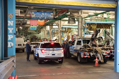NYPD forced to junk more than a dozen cars due to mold