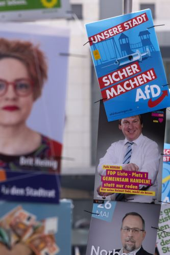 German far-right rules digital campaign for Europe election