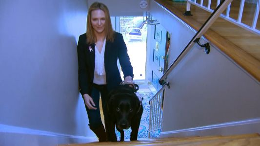 Navy veteran shares how service dog has changed life completely