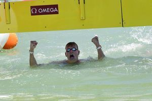 Weertman edges Wilimovsky for 10K open water title at worlds